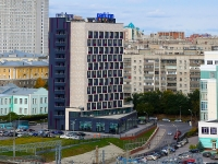 """Новосибирск, гостиница (отель) """"Park Inn by Radisson Novosibirsk"""", улица Дмитрия Шамшурина, дом 37"""
