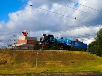 Новосибирск, памятник паровозу ФД 21-3000улица Дмитрия Шамшурина, памятник паровозу ФД 21-3000