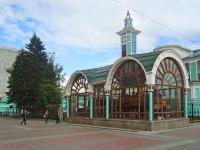 Новосибирск, улица Дмитрия Шамшурина. памятник Паровозу