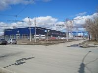 "Новосибирск, улица Аэропорт, дом 51/1. автосалон ""Peugeot"""