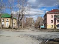 Новосибирск, улица Аэропорт, дом 55. многоквартирный дом