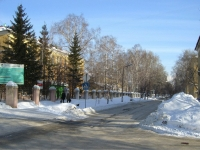 Новосибирск, улица Александра Невского, дом 9. поликлиника