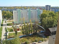 Novosibirsk, st Mendeleev, house 18. Apartment house