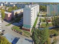 Novosibirsk, st Mendeleev, house 20. Apartment house