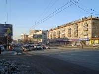 Новосибирск, улица Народная, дом 1/1. многоквартирный дом