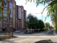 Novosibirsk, st Anikin, house 31. Apartment house