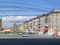 Новосибирск, улица Сибиряков-Гвардейцев, дом 1. многоквартирный дом
