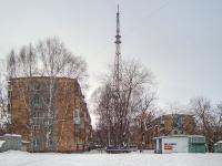 Novosibirsk, st Sibiryakov-Gvardeytsev, house 10. Apartment house