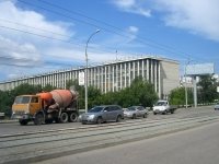 Новосибирск, улица Сибиряков-Гвардейцев, дом 42. офисное здание