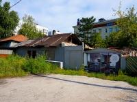 Novosibirsk, st Dekabristov, house 49. Private house