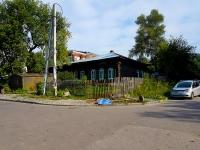 Novosibirsk, st Dekabristov, house 53. Private house