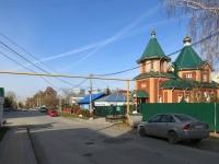 Новосибирск, улица Лескова, дом 131. храм во имя преподобного и благоверного князя Олега Брянского