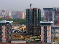 Новосибирск, улица Лескова, дом 27/1 СТР. строящееся здание