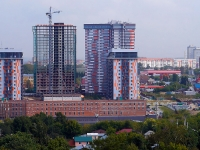 Новосибирск, улица Лескова, дом 27. многоквартирный дом