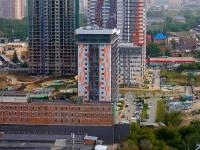 Новосибирск, улица Лескова, дом 29. многоквартирный дом