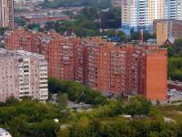 Новосибирск, улица Лескова, дом 15. многоквартирный дом
