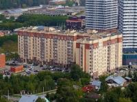 Новосибирск, улица Лескова, дом 19. многоквартирный дом