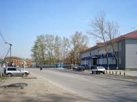 """Новосибирск, улица Аксёнова, дом 7. завод (фабрика) ОАО """"Новосибирский стрелочный завод"""""""