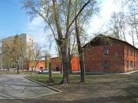 Новосибирск, Бассейный переулок, дом 10. многоквартирный дом