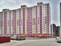 Новосибирск, улица Берёзовая, дом 15. многоквартирный дом