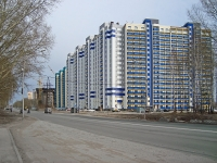 Новосибирск, улица Одоевского, дом 1/11. многоквартирный дом