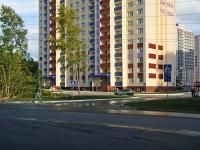 Новосибирск, улица Одоевского, дом 1/1. многоквартирный дом