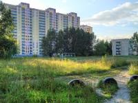 Новосибирск, улица Одоевского, дом 1/2. многоквартирный дом