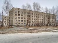 Новосибирск, улица Одоевского, дом 1А. общежитие