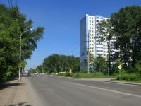 Новосибирск, улица Одоевского, дом 9. многоквартирный дом