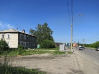 Новосибирск, улица Одоевского, дом 30. многоквартирный дом