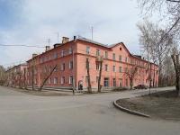 Новосибирск, улица Барьерная, дом 12. многоквартирный дом