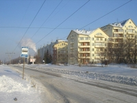 Novosibirsk, st Arbuzov, house 12. Apartment house