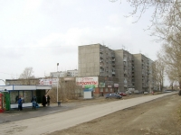 Novosibirsk, st Berdyshev, house 5. Apartment house