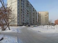 Новосибирск, улица Вахтангова, дом 39. многоквартирный дом