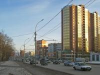 Новосибирск, Дзержинского проспект, дом 1/1. многоквартирный дом