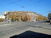 Новосибирск, Дзержинского проспект, дом 1А. многоквартирный дом