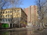 Новосибирск, Дзержинского проспект, дом 1. техникум Новосибирский монтажный техникум
