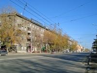 Новосибирск, Дзержинского проспект, дом 3. многоквартирный дом