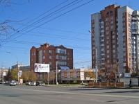 Новосибирск, Дзержинского проспект, дом 14. многоквартирный дом