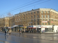 Novosibirsk, Dzerzhinsky avenue, house 18. Apartment house