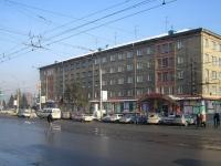 """Новосибирск, Дзержинского проспект, дом 32. гостиница (отель) """"Северная"""""""