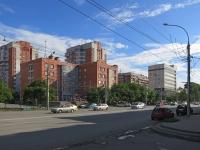 Новосибирск, Дзержинского проспект, дом 14/3. многоквартирный дом
