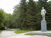 Новосибирск, памятник Ф.Э. ДзержинскомуДзержинского проспект, памятник Ф.Э. Дзержинскому