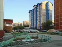 Новосибирск, улица Железнодорожная, дом 10. многоквартирный дом