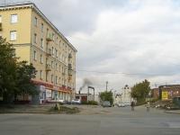 Новосибирск, улица Железнодорожная, дом 11. многоквартирный дом