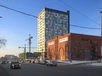 Новосибирск, улица Железнодорожная, дом 15. многоквартирный дом