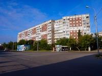 Новосибирск, улица Железнодорожная, дом 2. многоквартирный дом