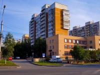 Новосибирск, улица Железнодорожная, дом 6. многоквартирный дом