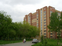 Novosibirsk, st Timiryazev, house 93. Apartment house
