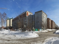 Novosibirsk, st Timiryazev, house 58. Apartment house